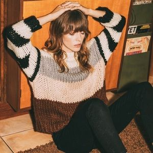 Volcom Classy Time Chunky knit sweater